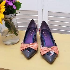 Poetic License Vintage Look Pointed Toe Heel